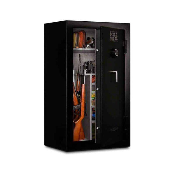 Mesa Safe 30-Minute Gun Safe with Electronic Lock 1 and 2 Hour Fire - 36 Gun Cap - 21 CF - Senior.com Security Safes