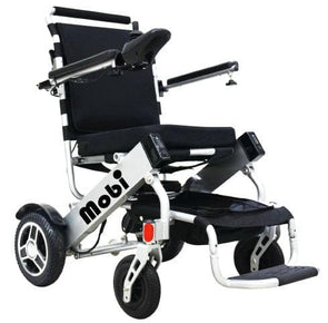 Mobi 1 Foldable Portable Electric Wheelchair - Airline Travel Approved - Senior.com Wheelchairs