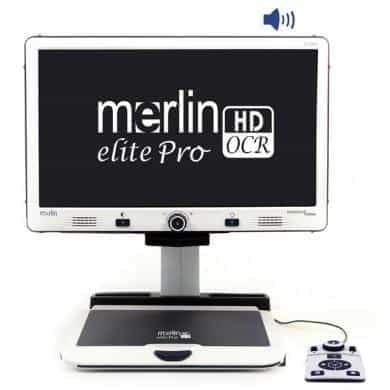 Enhanced Vision Merlin Elite Pro All-in-One Full HD Video Magnifier - Senior.com Vision Enhancers