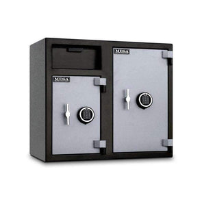 Mesa Safe All Steel Depository Safe with Two Electronic Locks - 6.7 Cubic Feet - Senior.com Security Safes