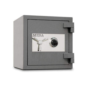 Mesa Safe High Security Burglary Fire Safe - All Steel with Combination Lock - 2.4-Cubic Feet - Senior.com Security Safes