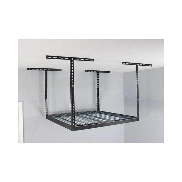 MonsterRax – 4×4 Overhead Storage Rack – Dark Grey - Senior.com Storage Racks