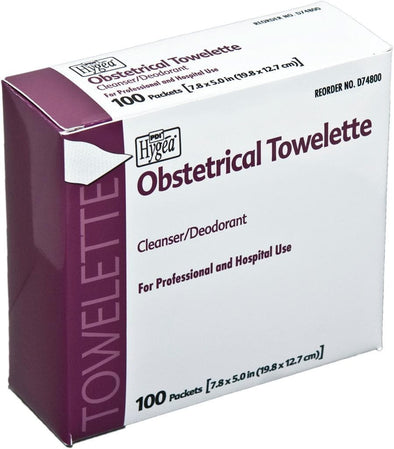 PDI Hygea Obstetrical Personal Cleansing Towelettes - Senior.com Cleansing Wipes