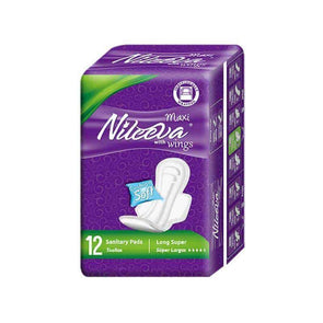 Nileeva Care Individually Wrapped Maxi Sanitary Napkins with Wings