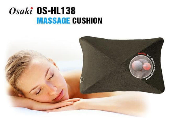 Osaki 360 Rotational Massage Cushion with 4 Massage Heads & Vibration Massage - Senior.com Massagers