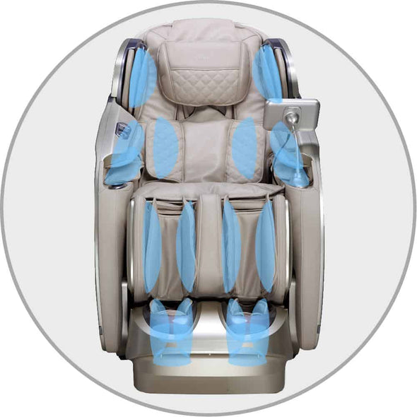 Osaki Pro First Class Massage Chairs - Full Body Air Massage w/ 23 Auto Massage Programs - Senior.com Massage Chairs