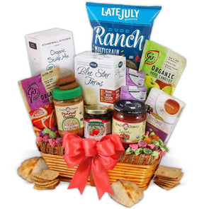 Gourmet Gift Baskets Organic Gift Basket - Classic