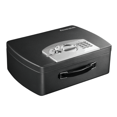 SentrySafe Portable Electronic Lock Box with Handle - P021E