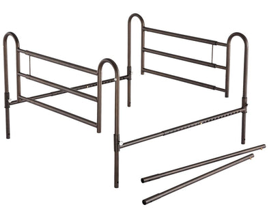 Essential Medical Supply Powder Coated Home Bed Rails with Extender - Senior.com Bed Rails