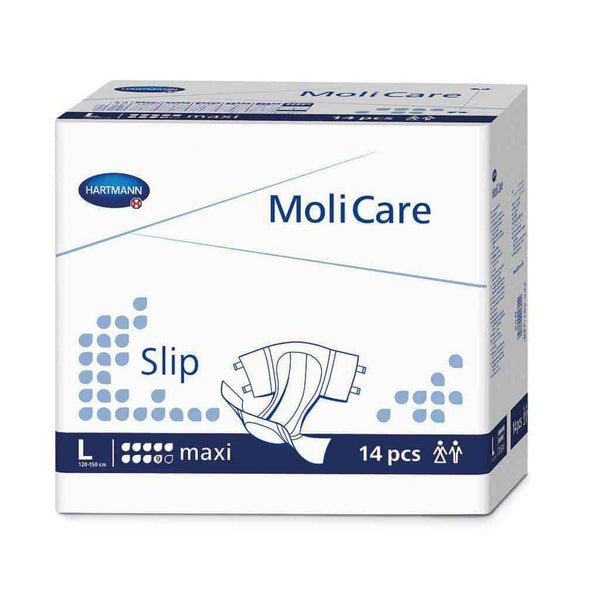 Molicare Premium Slip Maxi Briefs Adult Incontinence - Case of 56
