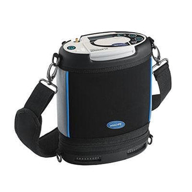 Invacare Platinum Mobile Portable Oxygen Concentrator with Extra Battery & 5 Flow Setttings - Senior.com Portable Oxygen Concentrators