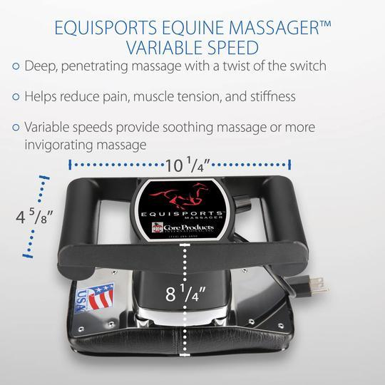 Core Products Equisport Horse Massager - Senior.com Massagers
