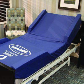 "Invacare Softform Mattress Cover with 3"" Raised Side Rail - 80""L x 36""W x 3""H - Senior.com Mattress Accessories"