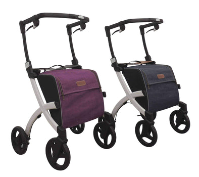 Rollz Flex Premium Lightweight Mobility Rollator Shopper Walkers