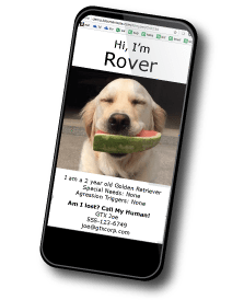 GTX RoverTracker GPS Pet Locator with SmartLocator Monitoring App