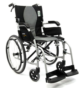 Karman Healthcare Ergo Flight Ultralight Folding Manual Wheelchair - Senior.com Wheelchairs