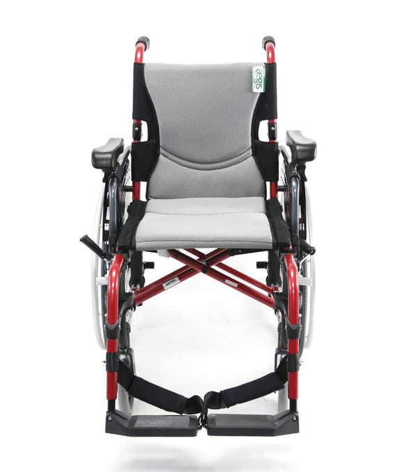 Karman Healthcare S-ERGO 305 Ultralight Wheelchair with Quick Release Wheels - Senior.com Wheelchairs