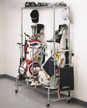 SafeRacks - Golf Equipment Organizer & Storage Rack