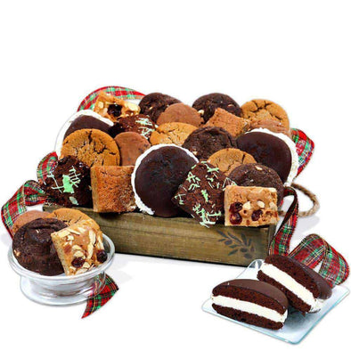 Gourmet Gift Baskets Season's Greetings Holiday Gift Basket - Senior.com Gift Baskets
