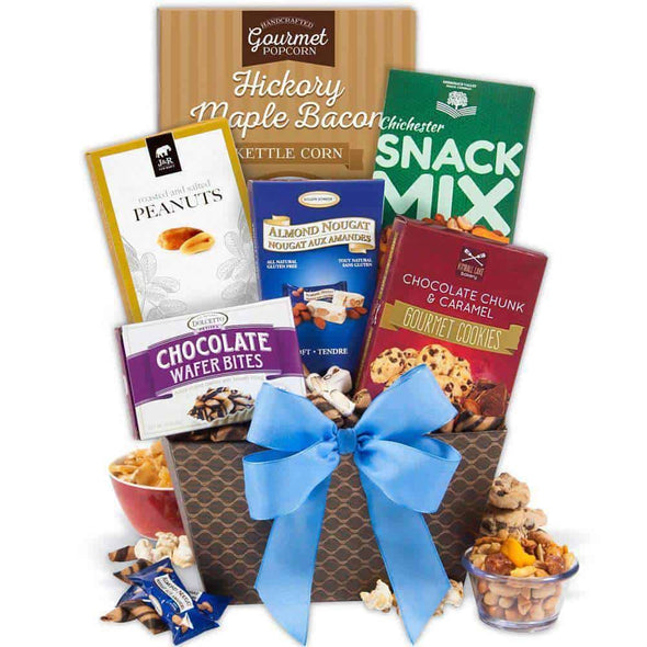 Gourmet Gift Baskets Snack Break Gift Basket - Senior.com Gift Baskets