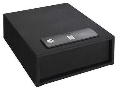 Stack-On Quick Access Auto Open Drawer Safe with Biometric Lock