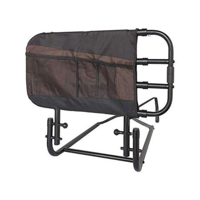 Stander EZ Adjust & Pivoting Adult Home Bed Rail with Storage Pouch - Senior.com Bed Rails