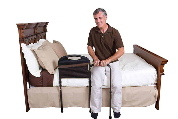 Stander Mobility Home Adult Bed Rail & Cushioned Support Bed Handle-2
