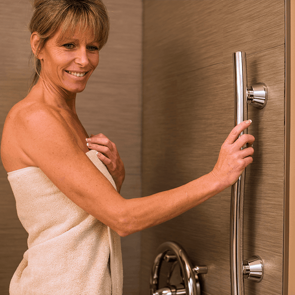 Invisia Accent Bars - Luxyry Designer Safety Grab Bars