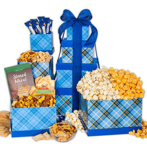 Gourmet Gift Baskets Sweetest Treats Gift Tower - Senior.com Gift Baskets
