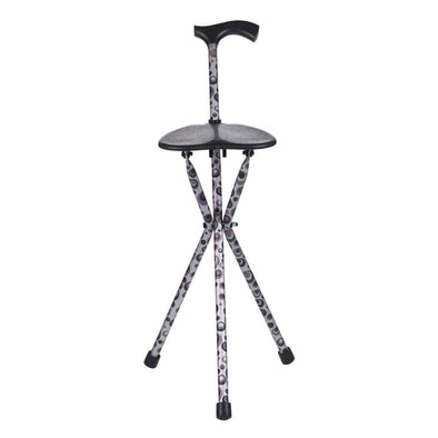 Switch Sticks Lightweight Adjustable Walking Stick Chair Combo with Seat - Senior.com Canes