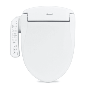 Brondell Swash 400 Bidet Seat with Air Dryer and Stainless-Steel Nozzle – Nightlight & Nozzle Oscillation