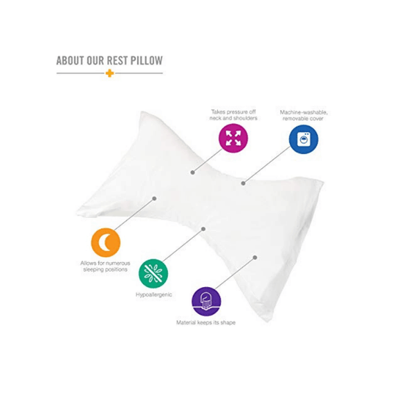 DMI Hypoallergenic Orthopedic Neck Pillows - Senior.com Pillows