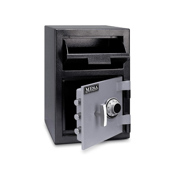 Mesa Safe All Steel Depository Safe with Combination Lock - 0.8 Cubic Feet MFL2014C