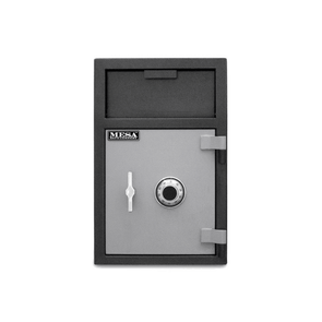 Mesa Safes All Steel Depository Safe with Interior Locker & Combination Lock - 2.1 cu ft - Senior.com Security Safes