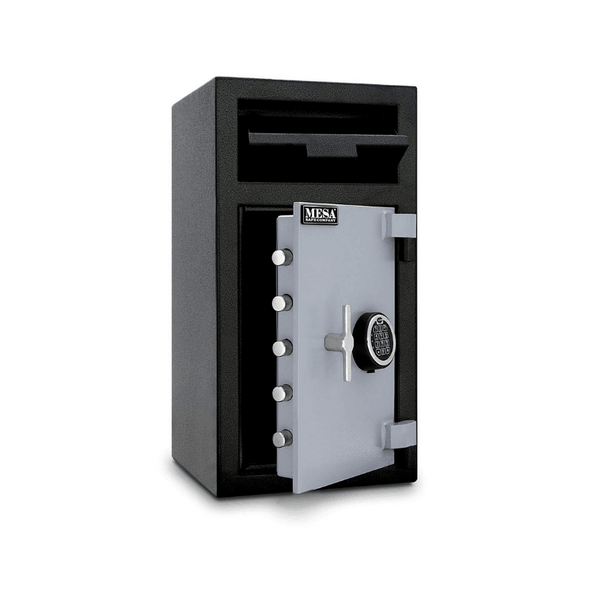 Mesa Safe All Steel Depository Safe with Electronic Lock - 1.4 Cubic Feet - Senior.com Security Safes
