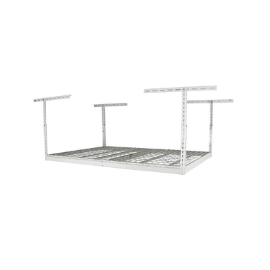 MonsterRax – 2×6 Overhead Garage Storage Rack – White - Senior.com Storage Racks