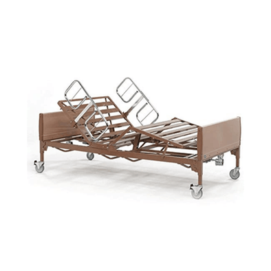 Invacare Bariatric Heavy Duty Full Electric Bed Frame Only - Senior.com beds
