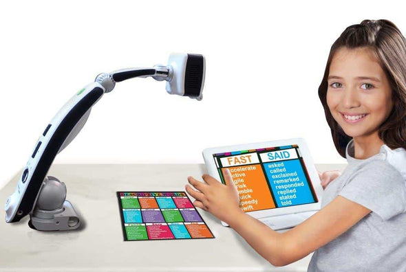 Enhanced Vision Transformer HD High Performance Portable Video Magnifier - Built In Wi-Fi - Senior.com Vision Enhancers