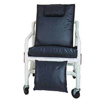MJM International Bariatric 3-Position Recline Geri-Chair with Full Chair Cushioning - Senior.com PVC Shower Chairs