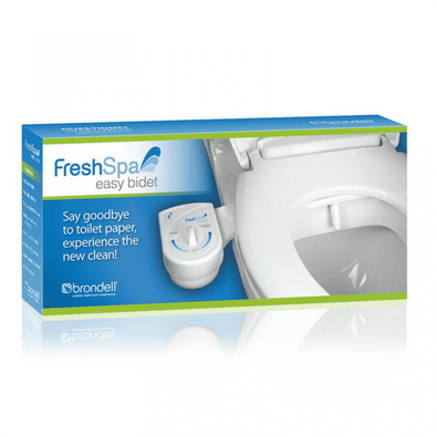 Brondell FreshSpa Easy Bidet Toilet Attachment – White FS-10