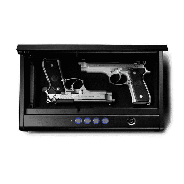 SentrySafe Pistol Safe Quick Access Electronic Keypad Gun Safe - Two Pistol Capacity - Senior.com Security Safes