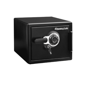 Sentry Safe Fire and Water Safe Large Combination and Key Safe - 0.8 Cubic Feet - Senior.com Security Safes