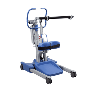 Hoyer Elevate Patient Lift - Powered Base and Smart Monitor Technology - Senior.com Patient Lifts