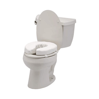 Nova Medical Padded Toilet Seat Cushions - For Standard and Elongated Toilet Seats - Senior.com Toilet Seat Risers