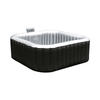 MSPA Alpine Square Shaped Luxury Portable Hot Tubs with Jets - Senior.com Hot Tubs & Jacuzzis