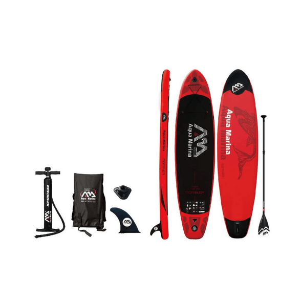 Aqua Marina Monster Inflatable Stand Up Paddle Board with EVA Traction - Senior.com Stand Up Paddle Boards