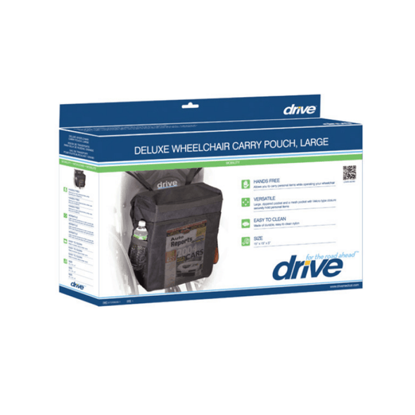 Drive Medical Standard Wheelchair Nylon Carry Pouch stds6005-1