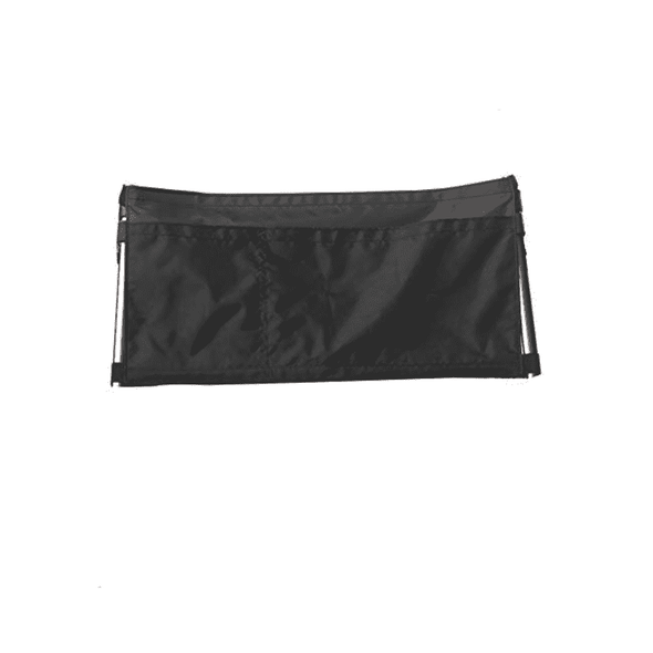 Stander Walker Replacement Organizer Pouch - Removable Nylon 2-Pocket Pouch with Velcro Straps - Senior.com Walker Parts & Accessories