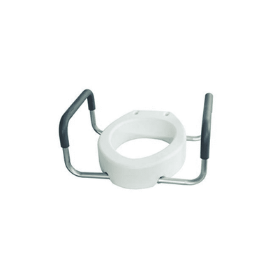 Essential Medical Supply Toilet Seat Risers with Removable Arms B5083 B5082