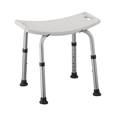 Nova Medical Shower Chair Without Back and Non Slip Legs 9010